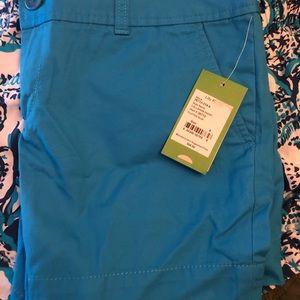 Lilly Pulitzer Callahan shorts size 8 NWT